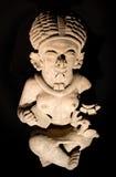 Estatueta cerâmica de uma cultura em Manabi, Equador fotos de stock royalty free