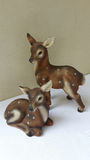 Estatueta cerâmica dos cervos Imagens de Stock