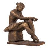 Estatueta da bailarina Fotos de Stock Royalty Free