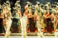 Estatueta da cerâmica Fotografia de Stock