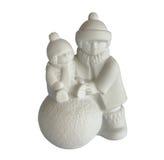 Estatueta da porcelana das crianças imagem de stock royalty free