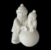 Estatueta da porcelana das crianças imagens de stock