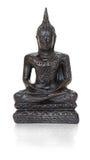 Estatueta de bronze tradicional de Buddha no branco Foto de Stock