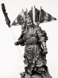 Estatueta de Guan Yu Fotografia de Stock