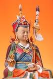 Estatueta de Guru Rinpoche com dorje Imagens de Stock Royalty Free