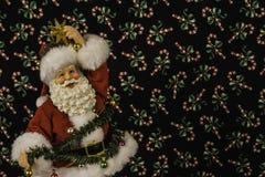 Estatueta de Santa Foto de Stock Royalty Free