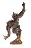 Estatueta de uma águia no fundo branco (lembrança), Fotos de Stock Royalty Free