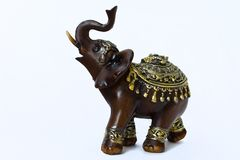 Estatueta decorativa do elefante Foto de Stock