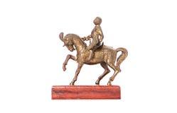 Estatueta do cavaleiro fotos de stock