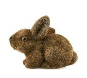 Estatueta do coelho do brinquedo isolada Foto de Stock Royalty Free