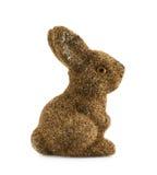 Estatueta do coelho do brinquedo isolada Imagens de Stock