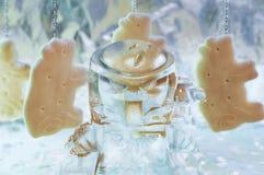 Estatueta do filme de LEGO Predator imagens de stock royalty free