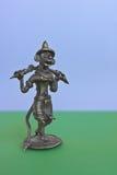 Estatueta do rei do macaco da epopeia indiana Foto de Stock Royalty Free