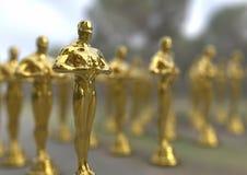 Estatueta dourada Fotos de Stock