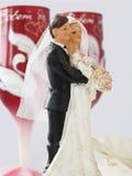 Estatuetas do casamento Fotos de Stock Royalty Free