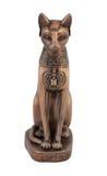 Estatuilla de Bastet del gato egipcio Imagen de archivo