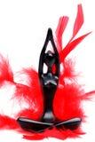 Estatuilla de la mujer meditating Fotografía de archivo libre de regalías