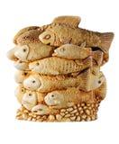 Estatuilla de los pescados Fotografía de archivo libre de regalías
