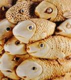 Estatuilla de los pescados Imágenes de archivo libres de regalías