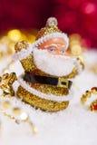 Estatuilla de Papá Noel Fotos de archivo libres de regalías