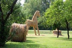 Estatuilla de un caballo Foto de archivo libre de regalías