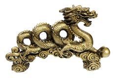 Estatuilla de un dragón, recuerdo Fotos de archivo