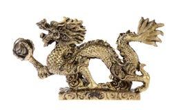 Estatuilla de un dragón, recuerdo Foto de archivo libre de regalías