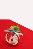 Estatuilla del pollo del Año Nuevo Fotografía de archivo libre de regalías