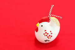 Estatuilla del pollo del Año Nuevo Imagen de archivo