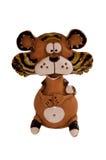 Estatuilla divertida del tigre Imagen de archivo