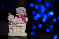 Estatuillas de la Navidad Fotografía de archivo