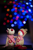 Estatuillas de la Navidad Fotografía de archivo libre de regalías