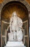 Estatura de Louis XIV, palácio de Versalhes Foto de Stock