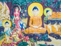 Estatus de Buda en el templo de Famen Imágenes de archivo libres de regalías