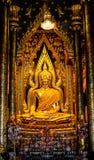 Estatus de Buda en el templo de Famen Foto de archivo