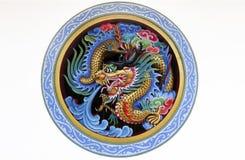 Estatus del dragón foto de archivo