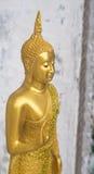 Estatuto da Buda na atitude de persuadir os parentes não t Foto de Stock