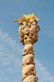 Estatuto de la trinidad santa, Sopron, Hungría Imagenes de archivo