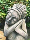 Estatuto de piedra Fotografía de archivo libre de regalías