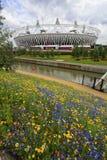 Estádio 2012 olímpico de Londres Foto de Stock Royalty Free