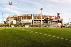 Estádio da placa do rio Fotografia de Stock