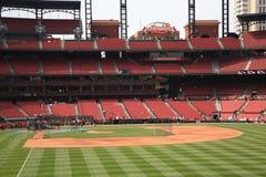 Estádio de Busch - cardeais de St Louis Fotos de Stock Royalty Free