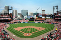 Estádio de Busch em St Louis Fotografia de Stock