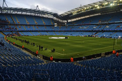 Estádio de Etihad - arena de Manchester City Fotos de Stock