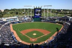 Estádio de Kauffman - Kansas City Royals Fotos de Stock Royalty Free