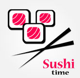 Este é ícones do sushi Imagem de Stock
