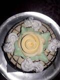 Este é bolo de aniversário do sabor escocês da manteiga fotos de stock