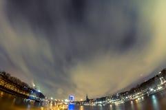 Luzes do porto Imagens de Stock Royalty Free
