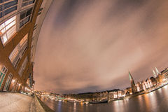 Luzes do porto Imagem de Stock