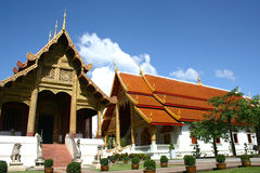 Um templo em Tailândia Fotografia de Stock Royalty Free